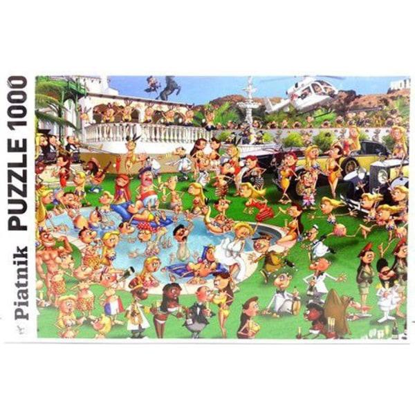 Piatnik Pussel - Francois Ruyer: Party 1000 Bitar multifärg