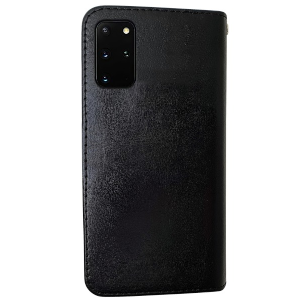 Samsung Galaxy S20 Plus - Läderfodral / Skydd Rosa