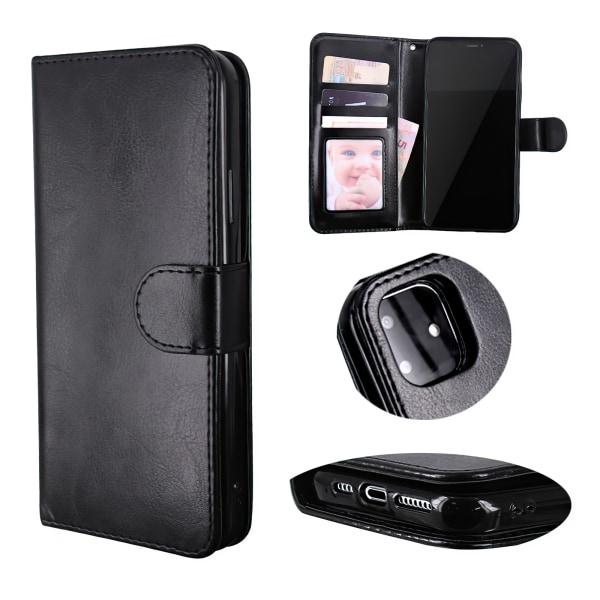 iPhone 12 Pro - Läderfodral / Skydd Svart