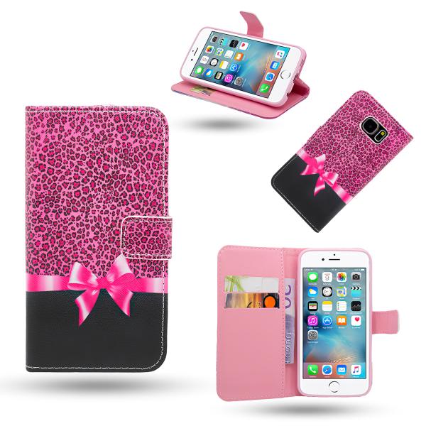iPhone 6 / 6S - Läderfodral / Skydd Vit