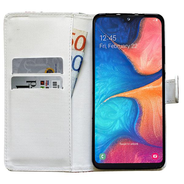 Samsung Galaxy A20e - Läderfodral / Skydd