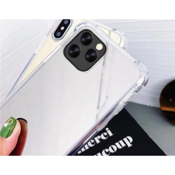 Mobilskal iPhone11 Spegelglas xo Silver one size