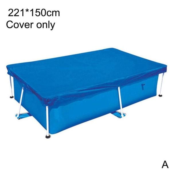 1 * Poolmatta Rektangulär vikbar dammtät golvmatta A 220*150cm