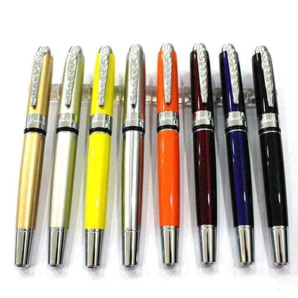 1Pc Roller Ball Gel Pen Metal Ballpoint Pen Office Signature Pen
