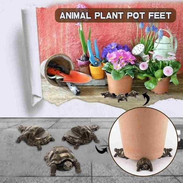 3st Potty Feet Pot Feet Holder Planter Support Garden Decor A dog