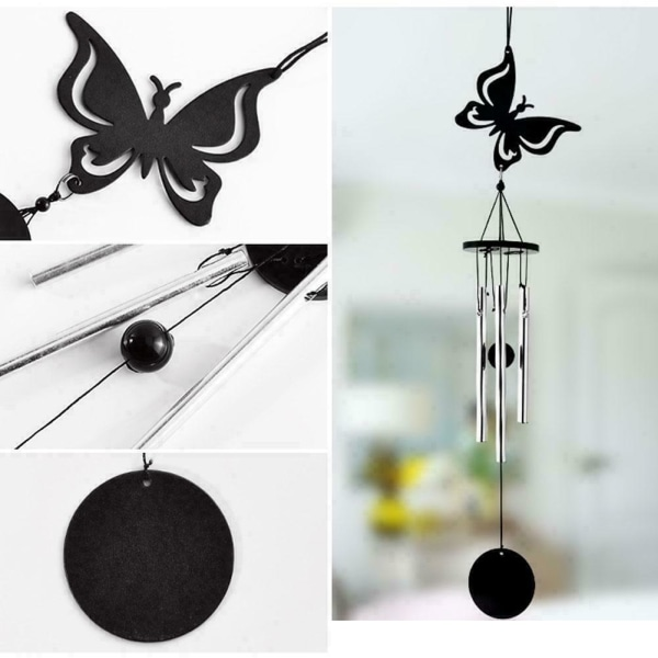 Bird Metal Lucky Bell Oriental Hanging Wind Chime Feng Decor A