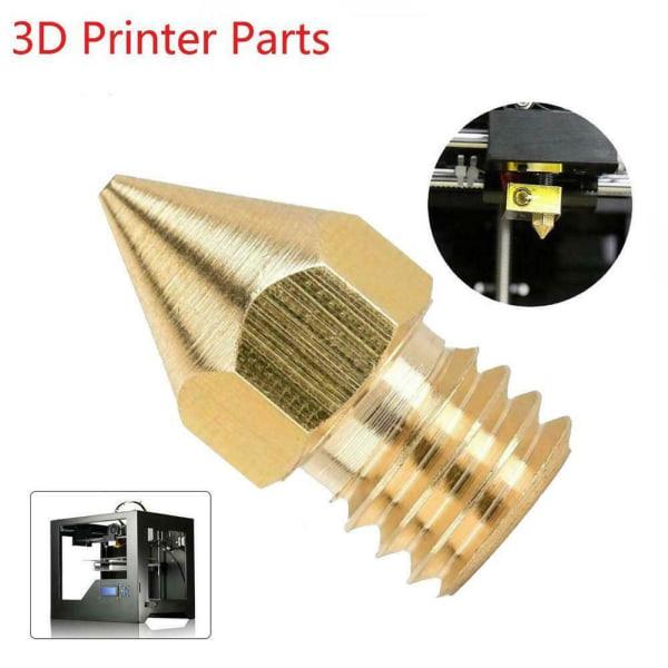 Guldmunstycks mässingssats för 3D-skrivare för Creality Ender Pro
