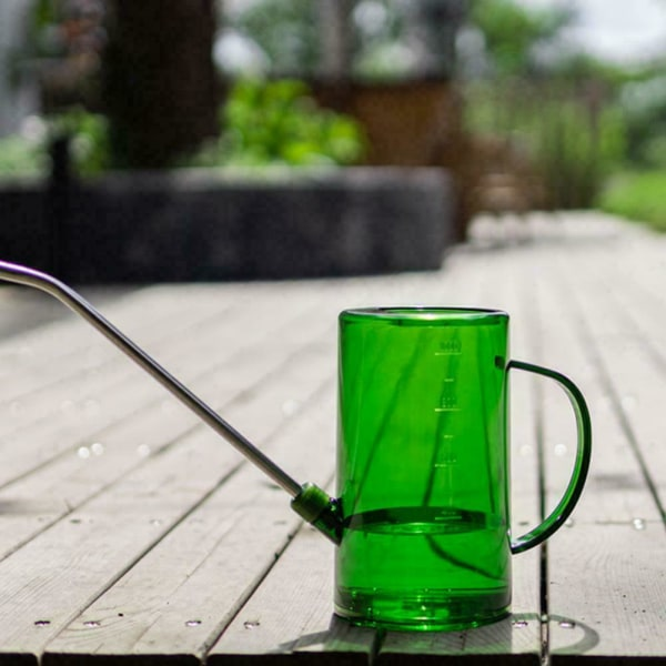 Vattenkanna för växter Lång pip Rostfritt stål pip