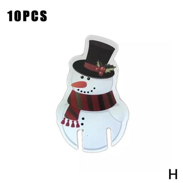 Xmas Hat Glass Wine Glass Christmas Holiday Prydnad