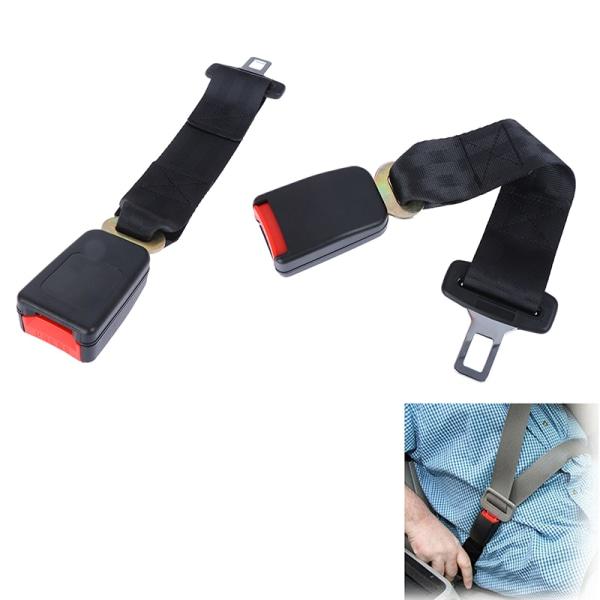 14 '' '' Svart bilbälte justerbar säkerhetsbälteförlängare