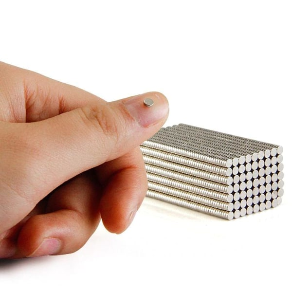 50 grader Neodymmagneter / N42-magnet 3 mm x 2 mm / Starkmagneter