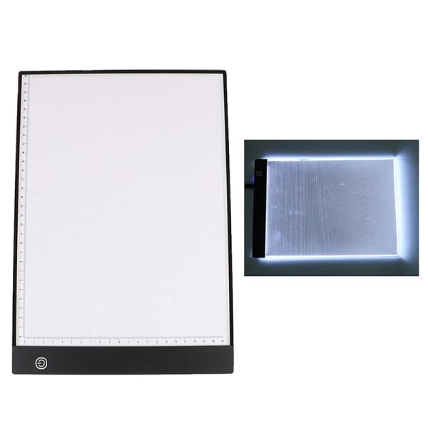 A4 LED-lampa Diamantmålningssats Verktyg Korttillbehör Em