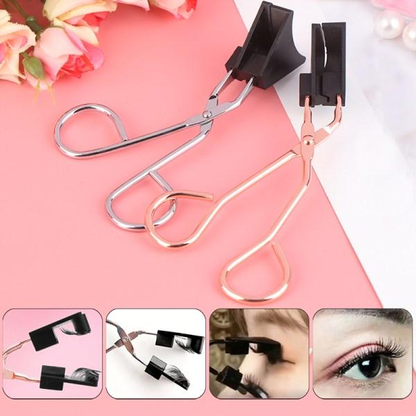 Magnetiska ögonfransar Klämapplikator utan lim Lätt applicera ögonfransar Silver