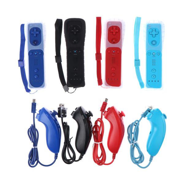 Wii & Wii U Remote & Nunchuck Inbyggd Motion Plus Controller