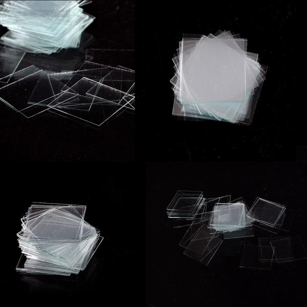 100 st Micro Micro Cover Slips 18x18mm - Microscope Slide Cove
