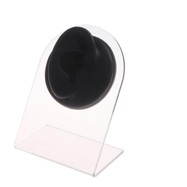1st Silikon Human Ear Piercing Model Display Puncture Simulati
