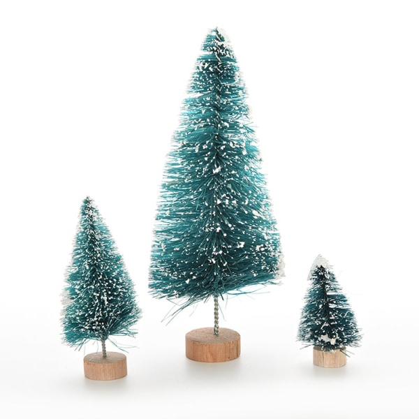 2 st konstgjord julgranfest fest ornament Xmas D