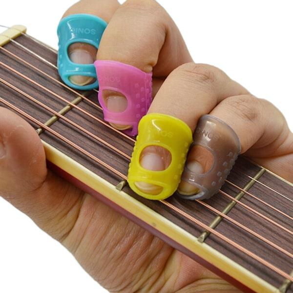 3 ST Ny mix färg gitarr tummen plockar finger plockar Plektrum Ba
