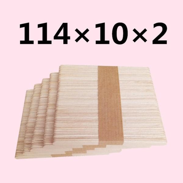 50st pinnar trä glass stick för silikon mögel fest evenemang onesize