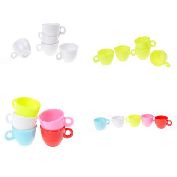 5st 1:12 Doll House Bordservice Miniatyr Mini Kaffekoppar T