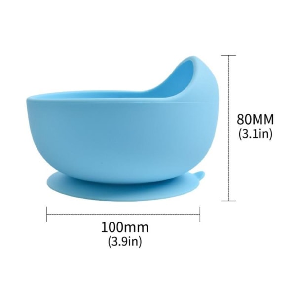 6st / uppsättning baby tallrikar skål set silikon köksutrustning su Y8
