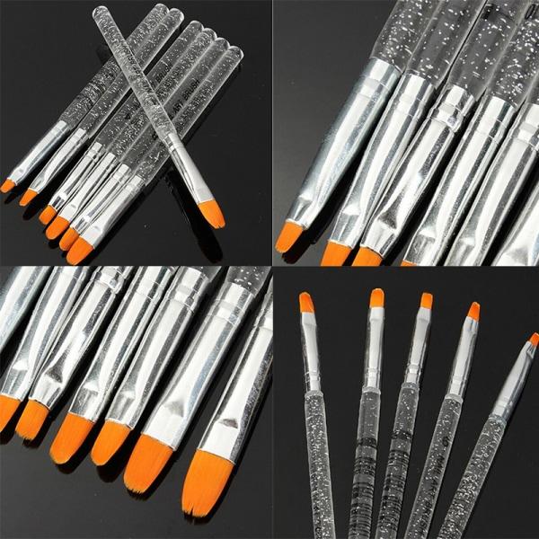 7st UV Gel Akryl Crystal Nail Art Design Builder Salon Paint