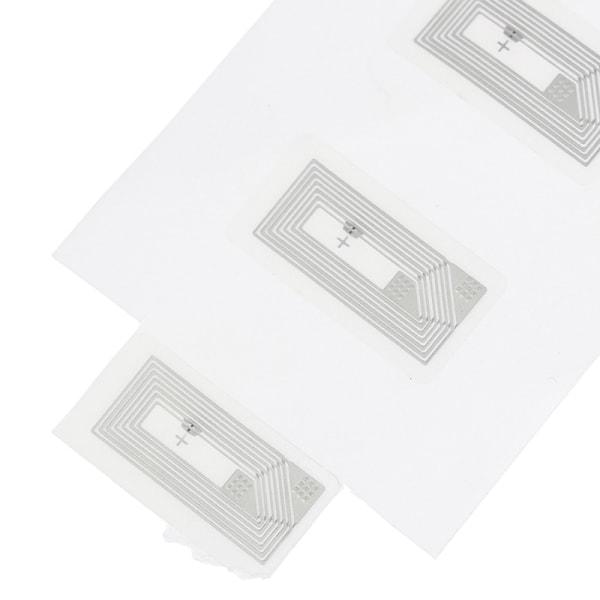 100st NFC Chip Ntag213 klistermärke Våt inlägg 2*1cm 13,56MHz RFID N 100PCS