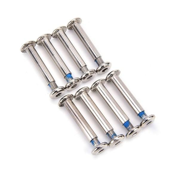 8x / satta inline rullaxlar knivar skruvar skridskor hjulbultar för