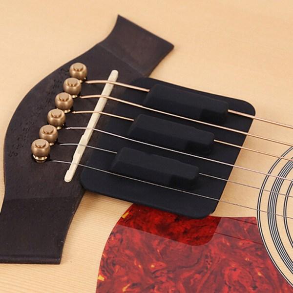 Klassisk akustisk gitarrljuddämpare Gitarrövning Mute Pad Mus