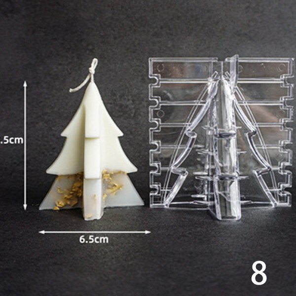 diy silikonstake mögel 3d mögel kolumnerad akryl mögel tvål mögel 8