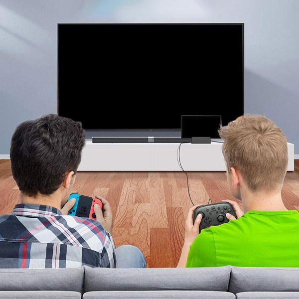 dockningsstation för Nintendo switch laddningsdocka 4k hdmi tv ada