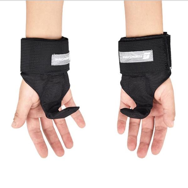 Konditionshandskar Viktlyftkrok Träning Gym Handtag Remar Wr