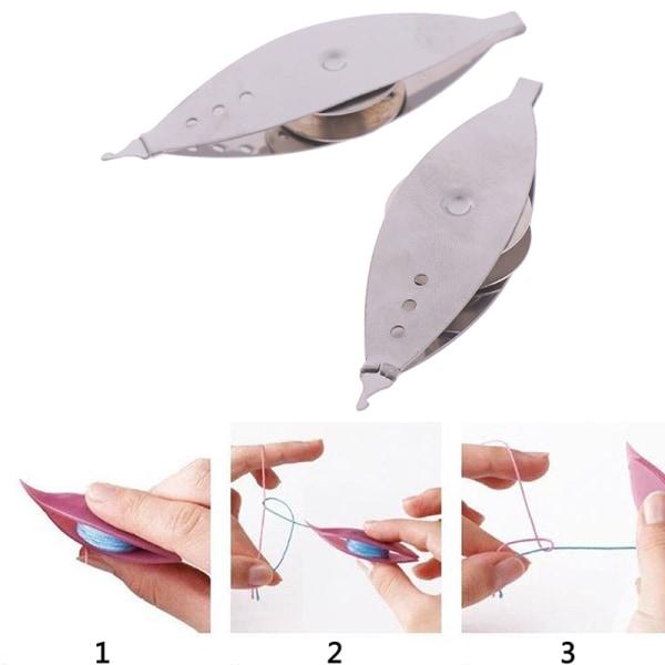 Metal Tatting Shuttle Hand Art Manual Tools Lace Making Craft S