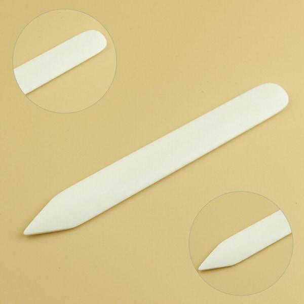 Natural Bone Folder Creaser Scoring Folding Creasing Paper Leat