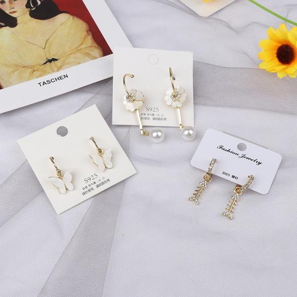 nya mode örhängen för kvinnor flickor romantiska bröllop earri A2