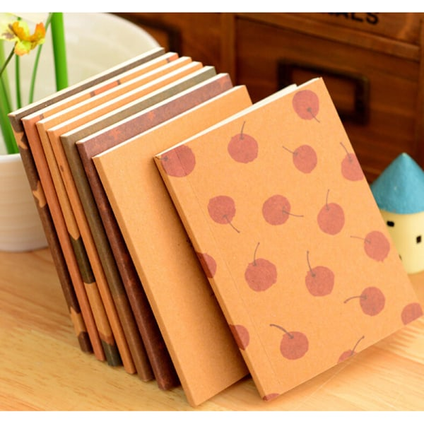 Ny handgjord journal Memo Dream Notebook Paper Notepad Blank Di