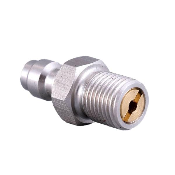 pcp paintball pneumatisk snabbkoppling 8mm m10x1 hankontaktadapter A4