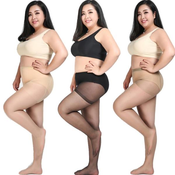 Sexiga Plus Size kvinnor genomskinliga gravida moderskapstrumpbyxor