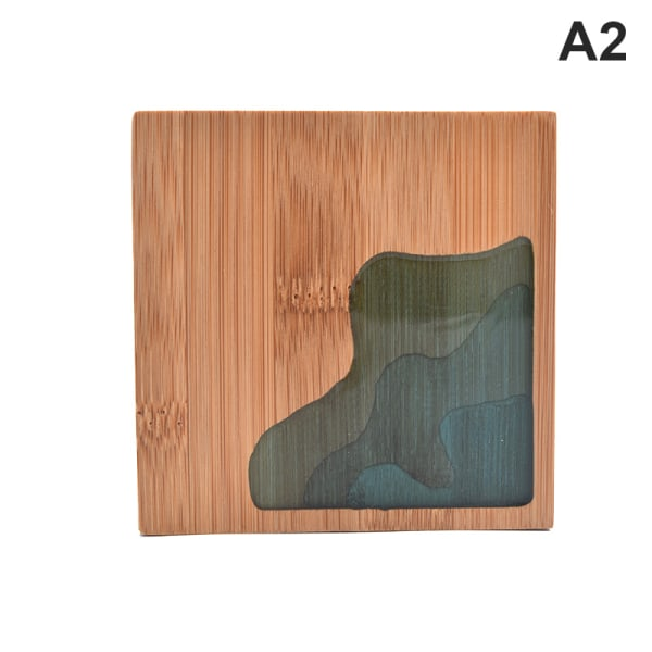 underlägg placemat bambu te kaffe kopp pad tallrik matta kit A2