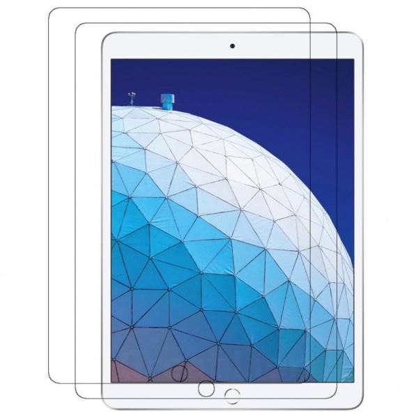 2-Pack iPad 10.2 (7/8 Generation) Härdat Glas Skärmskydd Retail Transparent one size