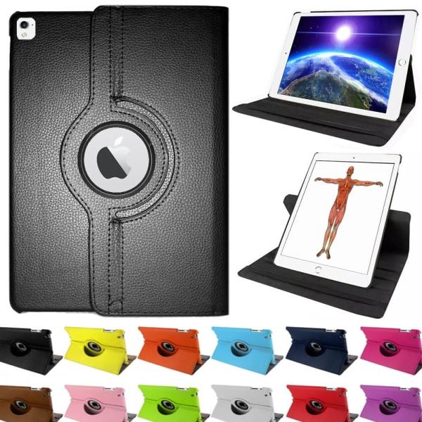 iPad PRO 9.7  Flexibel 360° Rotation Fodral Brun
