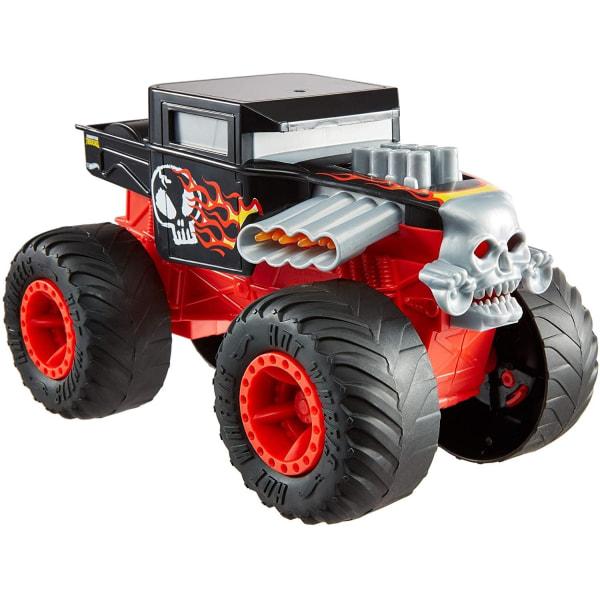 Hot Wheels Monster Trucks Double Troubles Bone Shaker Leksaksbil multifärg