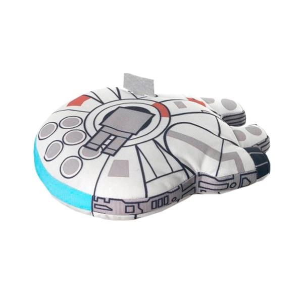 Star Wars Millenium Falcon Plush Gosedjur Plysch Mjukis 18cm multifärg