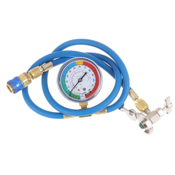 1,5 m R134a AC HVAC Recharge Mätning av kylmedelsslang kan tappa