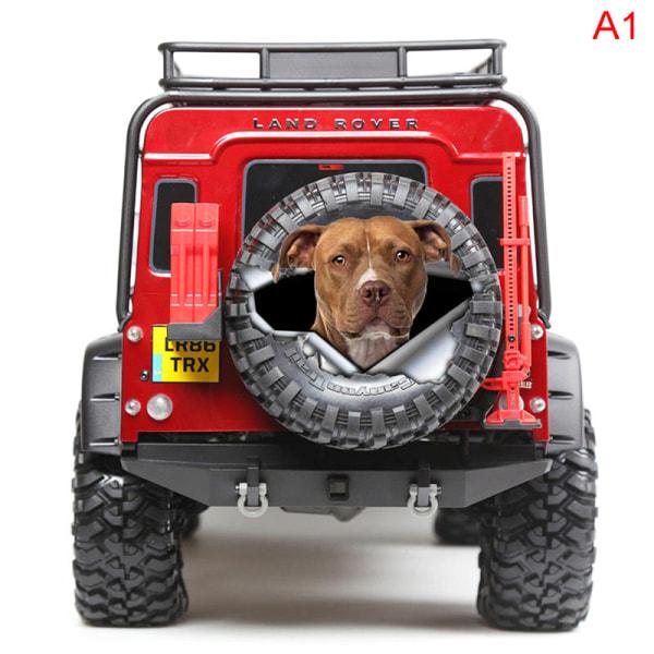 3D stereo anime kreativ hund simulering bil klistermärken bil styling A1