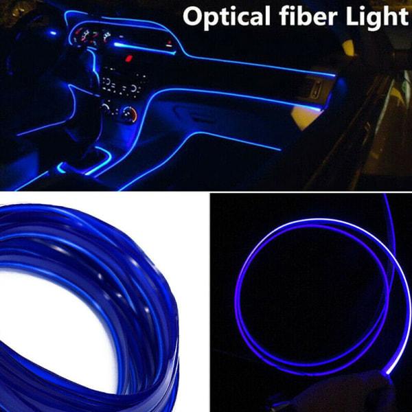 4M bilinteriör LED-omgivande ljus Atmosfärslampa Optisk fiber