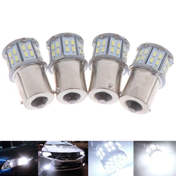 4X 1156 BA15S 50SMD 3014 LED-ersättningslampor Bilinteriör RV