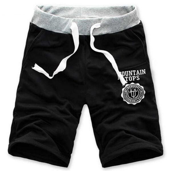 Casual Män Sommar Hip Hop Shorts Jogger Sport Kort Baggy Slac