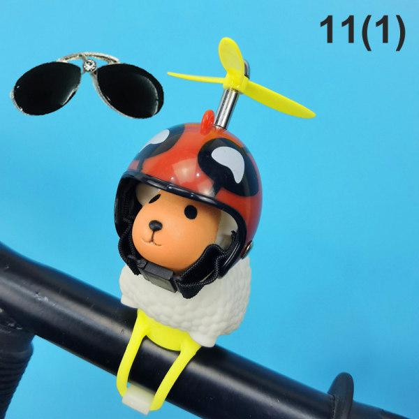 den trasiga vinden liten gul anka cykel ridhjälm cykling enligt 11