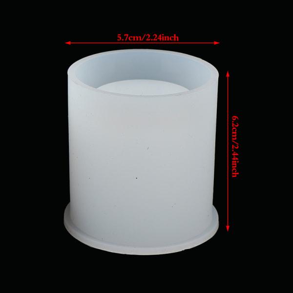 silikonhartsformar hållare epoxi gjutning konst underlägg kopp penna ca